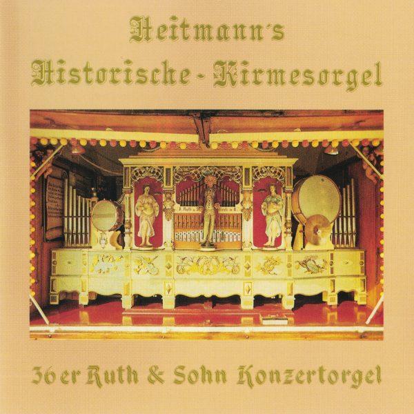 Drehorgel-Shop: Heitmann's Historische-Kirmesorgel (CD2023)