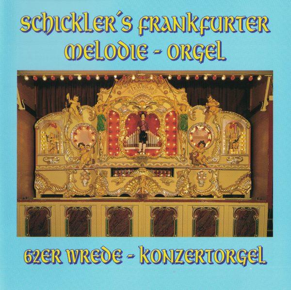 Drehorgel-Shop: Schickler's Frankfurter Melodie-Orgel (CD2024)