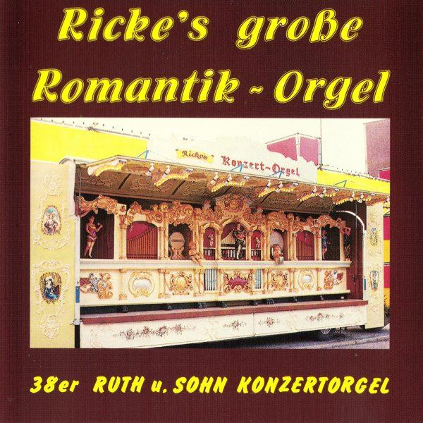 Drehorgel-Shop: Ricke's große Romantik-Orgel (CD2026)