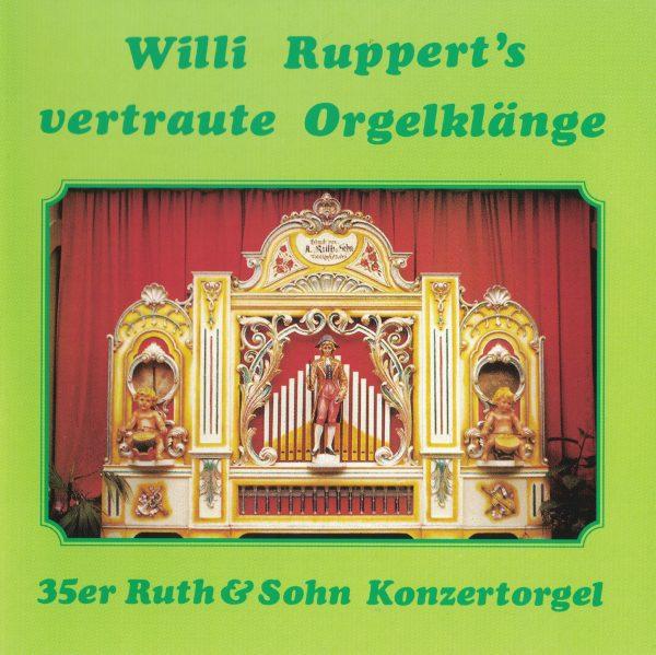 Drehorgel-Shop: Willi Rupert's vertraute Orgelklänge (CD2029)