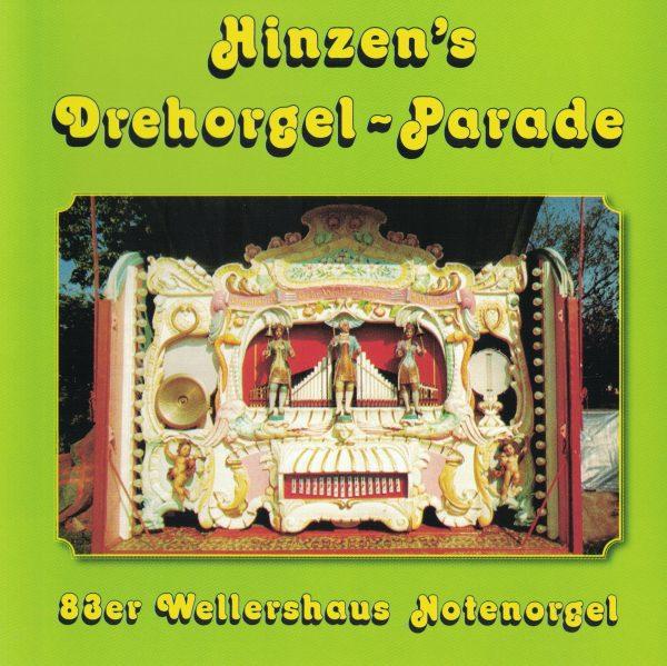 Drehorgel-Shop: Hinzen's Drehorgel-Parade (CD2037)