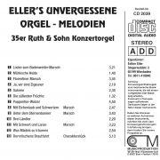 Drehorgel-Shop: Eller's unvergessene Orgel-Melodien (CD2039)