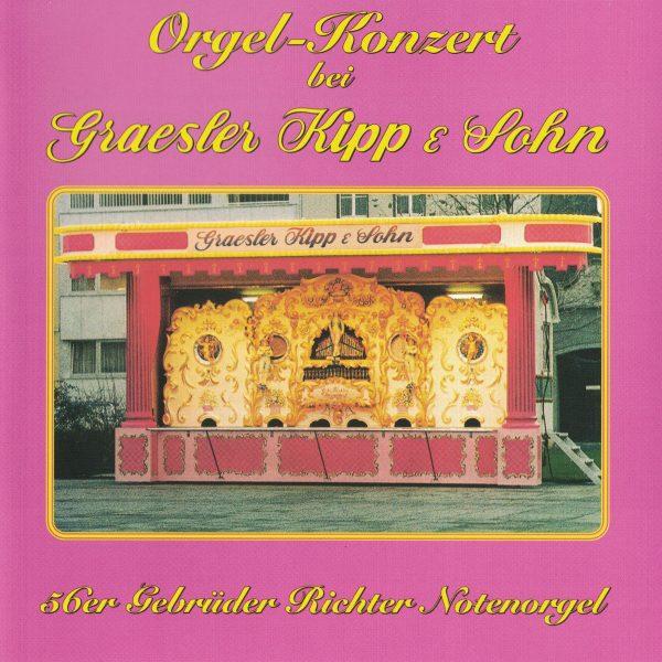 Drehorgel-Shop: Orgel-Konzert bei Graesler Kipp & Sohn (CD2040)