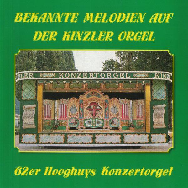 Drehorgel-Shop: Bekannte Melodien auf der Kinzler Orgel (CD2044)