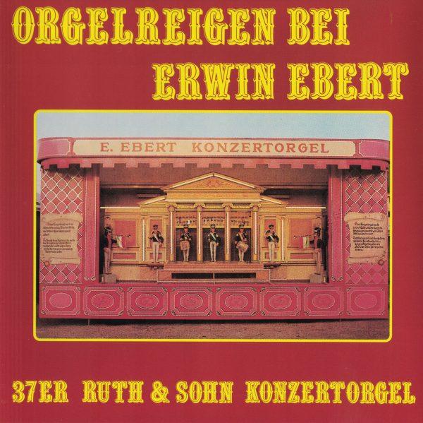 Drehorgel-Shop: Orgelreigen bei Erwin Ebert (CD2057)