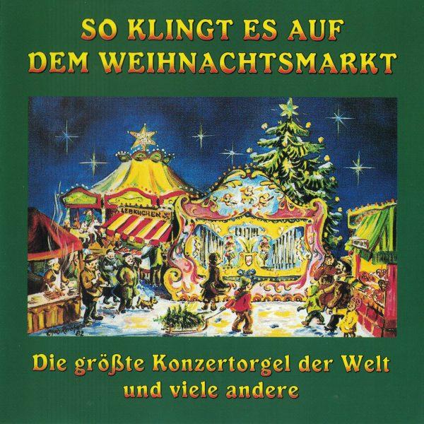 Drehorgel-Shop: So klingt es auf dem Weihnachtsmarkt (CD2074)