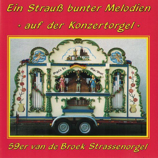 Drehorgel-Shop: Ein Strauss bunter Melodien auf der Konzertorgel (CD2079)