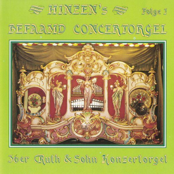 Drehorgel-Shop: Hinzen's Befaamd Concertorgel - Folge 1 (CD2085)