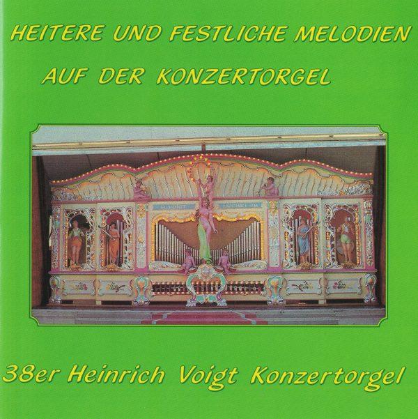 Drehorgel-Shop: Heitere und Festliche Melodien auf der Konzertorgel (CD2103)