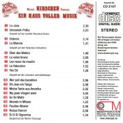Drehorgel-Shop: Hotel Hirschen Sursee (CD2107)