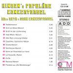Drehorgel-Shop: Hinzen's Populäre Concertorgel (CD2108)