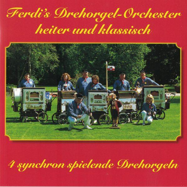 Drehorgel-Shop: Ferdi's Drehorgel-Orchester - heiter und klassich (CD2124)