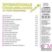 Drehorgel-Shop: Internationale Orgelmelodies - Folge 3 (CD2127)