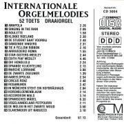 Drehorgel-Shop: Internationale Orgelmelodies (CD3004)