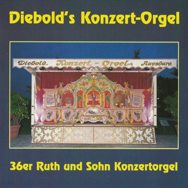 Drehorgel-Shop: Diebold's Konzert Orgel (CD3006)