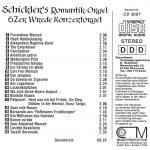 Drehorgel-Shop: Schickler's Romantik-Orgel (CD3007)