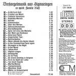 Drehorgel-Shop: Drehorgelmusik aus Sigmaringen - es spielt: Familie Rieß (CD3008)