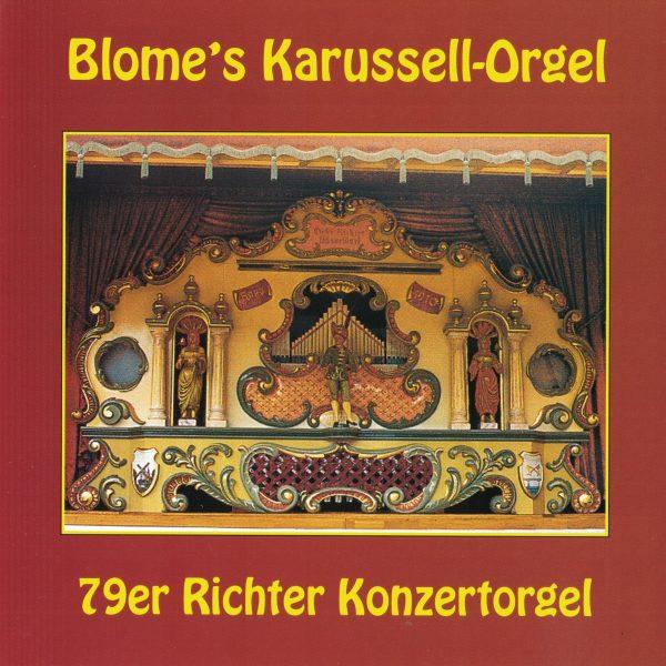 Drehorgel-Shop: Blome's Karussell-Orgel (CD3009)
