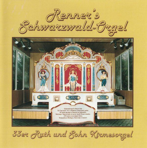Drehorgel-Shop: Renner's Schwarzwald-Orgel (CD3011)