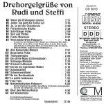 Drehorgel-Shop: Drehorgelgrüße von Rudi und Steffi (CD3013)