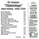 """Drehorgel-Shop: Die Mondorfer """"Bänkelsänger"""" singen schaurig-schöne Lieder (CD3015)"""