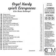Drehorgel-Shop: Orgel Hardy spielt Evergreens (CD3021)