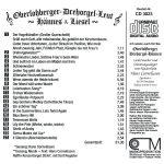 Drehorgel-Shop: Oberlohberger-Drehorgel-Leut - Hännes & Liesel (CD3023)
