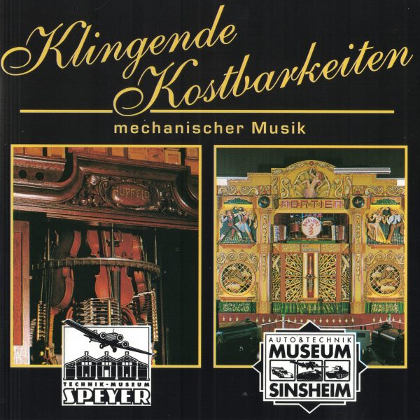 Drehorgel-Shop: Klingende Kostbarkeiten mechanischer Musik (CD3025)