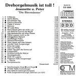 "Drehorgel-Shop: Drehorgelmusik ist toll! - Jeannette u. Peter ""Die Biermänner"" (CD3026)"