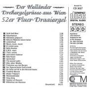 Drehorgel-Shop: Der Holländer - Drehorgelgrüsse aus Wien (CD3027)