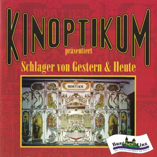 Drehorgel-Shop: Kinoptikum präsentiert: Schlager von Gestern und Heute (CD3029)