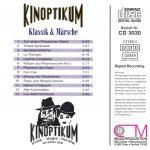 Drehorgel-Shop: Kinoptikum präsentiert: Klassik und Märsche (CD3030)
