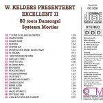 Drehorgel-Shop: W. Kelders presenteert Excellent II (CD3031)