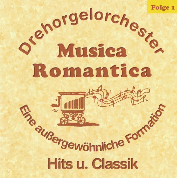 Drehorgel-Shop: Musica Romantica - Hits und Classik (CD3032)