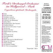 Drehorgel-Shop: Ferdi's Drehorgel-Orchester - im Hollywood-Park (CD3033)