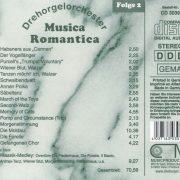 Drehorgel-Shop: Musica Romantica - Folge 2 - Klassik (CD3039)