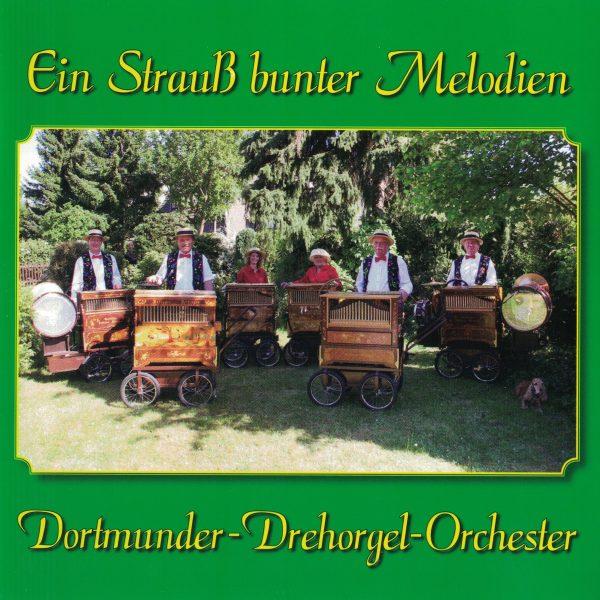 Drehorgel-Shop: Ein Strauss bunter Melodien - Dortmunder Derhorgel-Orchester (CD3046)