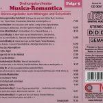 Drehorgel-Shop: Musica Romantica - Folge 5 - Stimmungslieder zum Mitsingen und Schunkeln (CD3051)